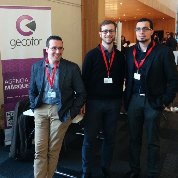 Socios fundadores de Gecofor. Raul, Francesc Ricart y Victor Franquet