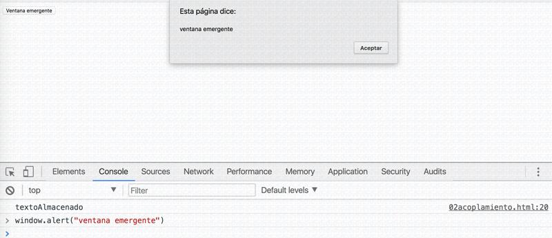 javascript por pantalla