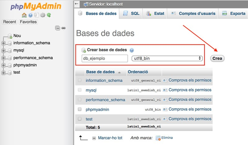 paso 5 wordpress local xampp