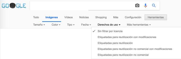 búsqueda imágenes en google