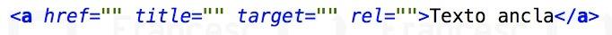 Enlace y atributos html