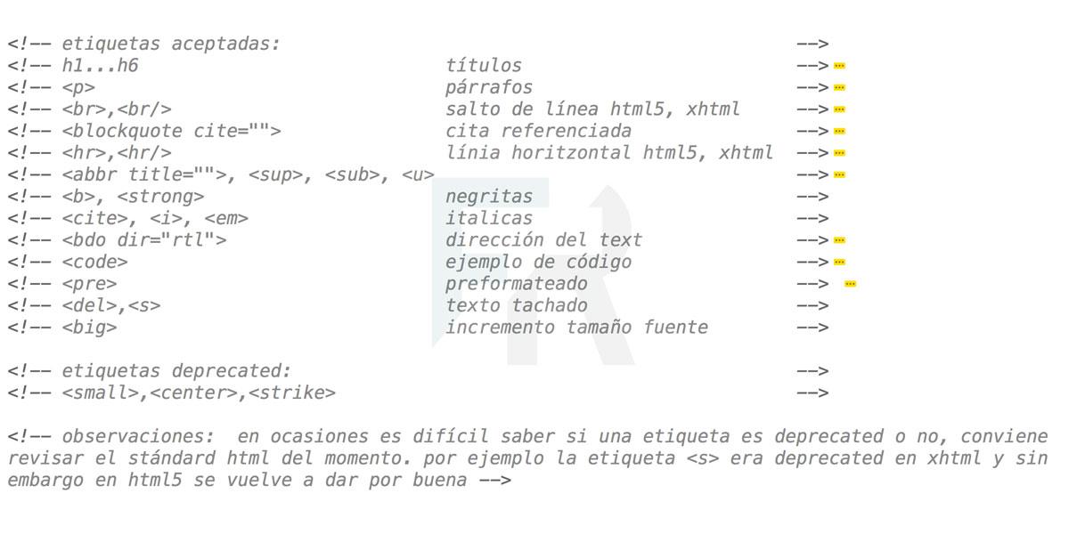 Etiquetas básicas introductoras al html5 1