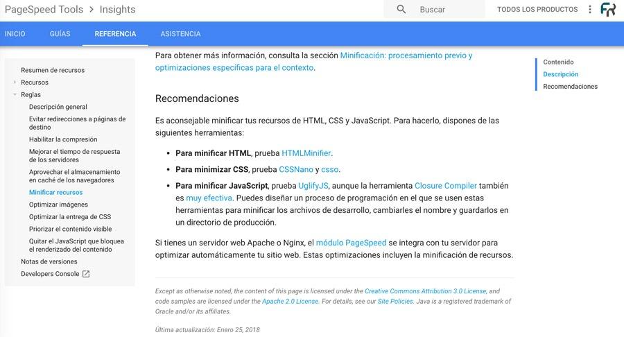 herramientas-optimización-page-speed-insights