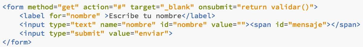 formulario web html