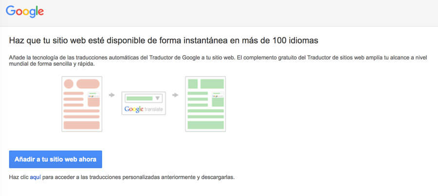 google translator web