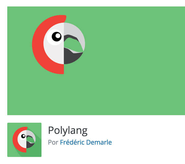 captura de pantalla del plugin polylang en el directorio de wordpress.org