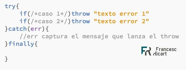 Validación De Campos Try Catch Finally En Javascript Puro
