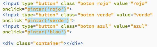 javascript en línea