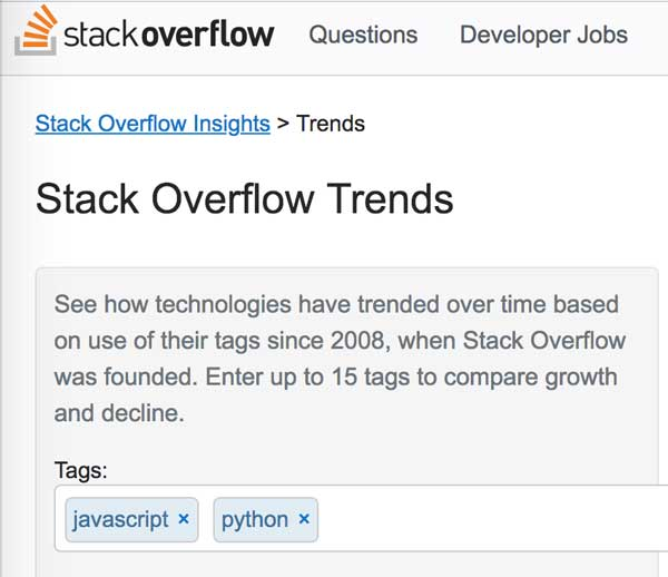Stack overflow insights