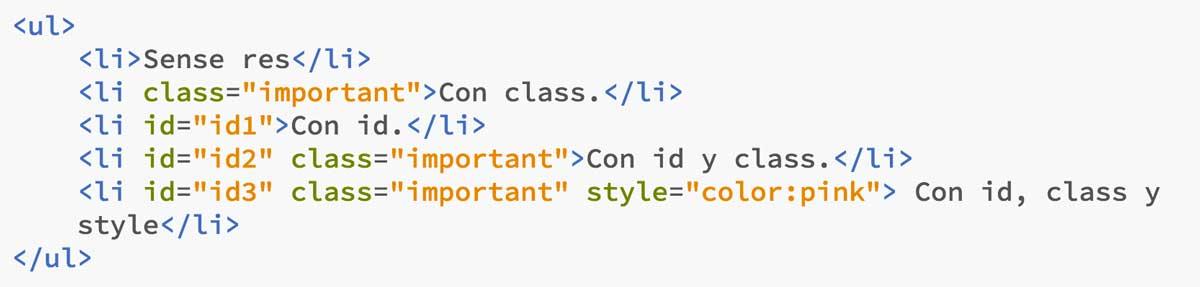 código html ejemplo especificidad CSS