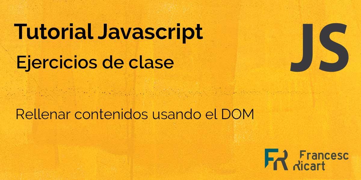 Ejercicio JS - Crear un cronómetro con javascript 1