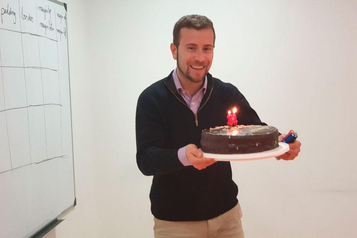 Feliz cumpleaños profesor