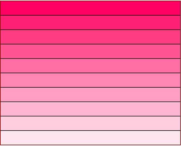 Escala cromática ff0064