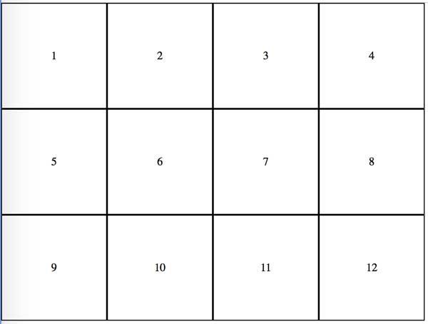 Resumen de propiedades css para hacer tablas con display:table 1
