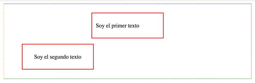 Ejercicio diferencia entre centrado de texto y de cajas en css 1