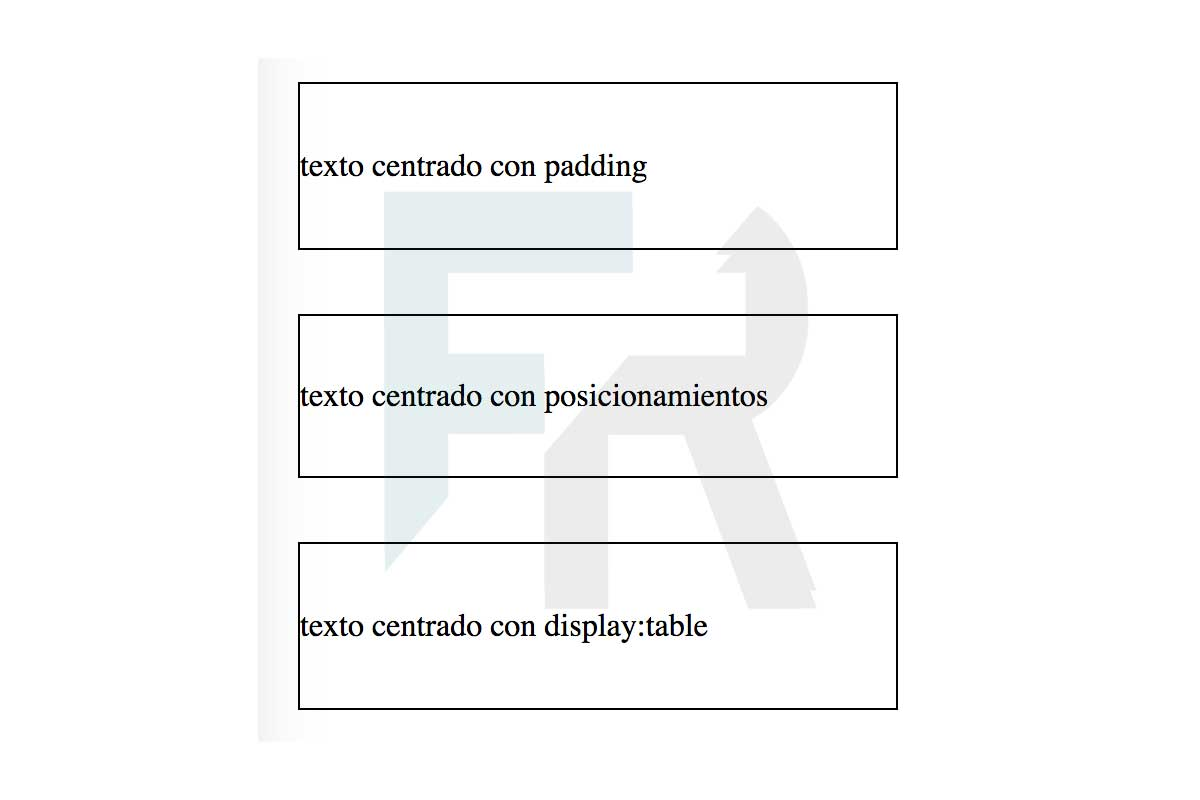 centrado vertical de texto