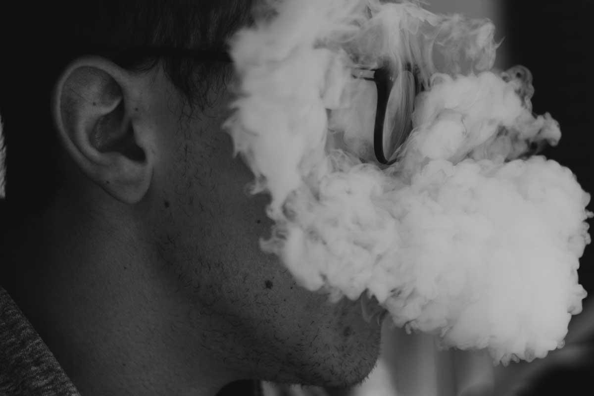 una buena fumada