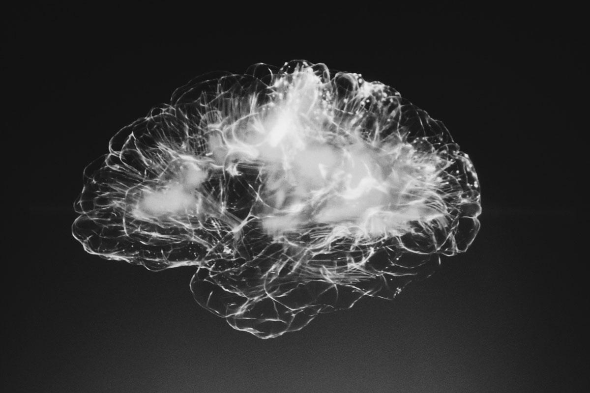 cerebro lleno de humo