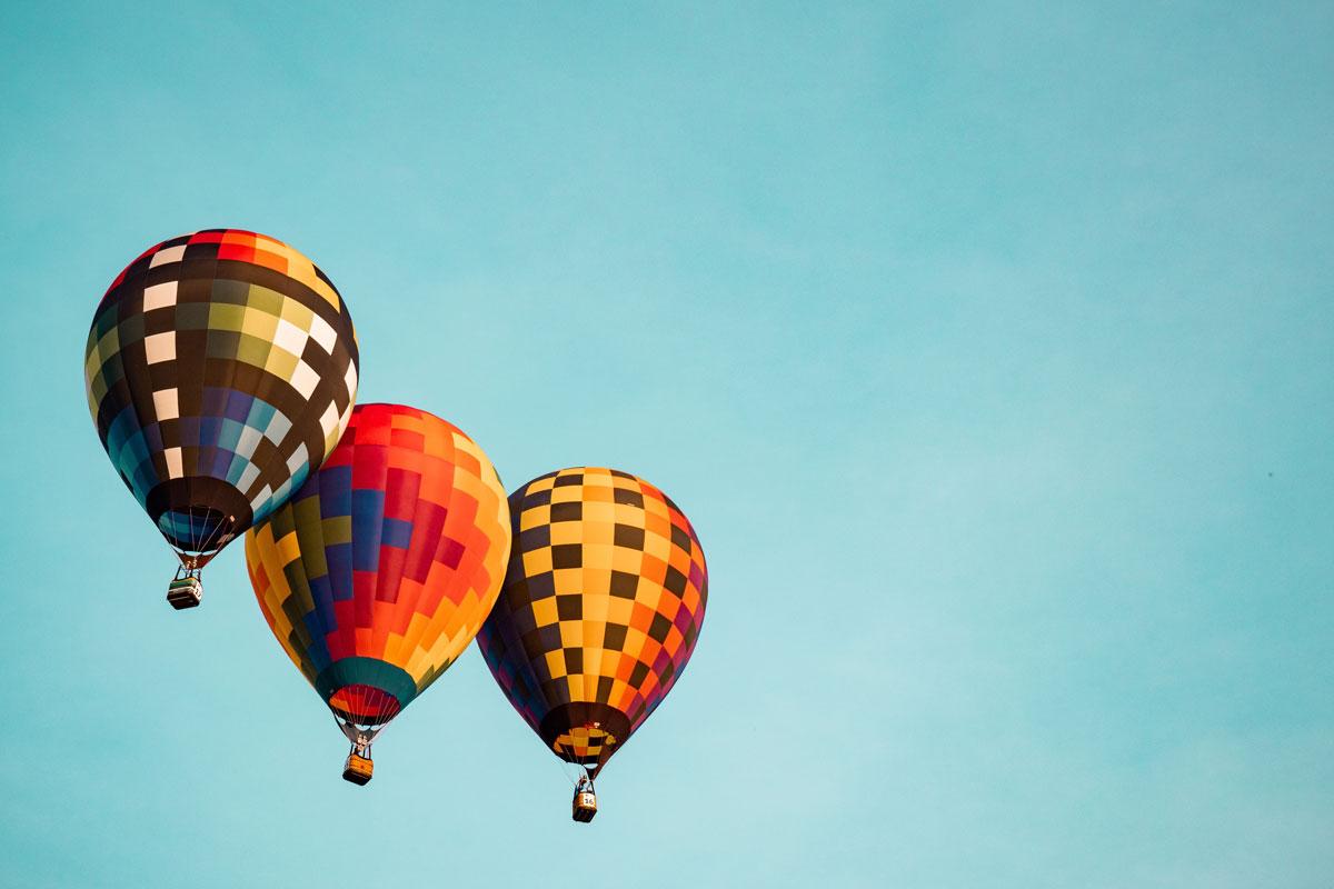 tres globos