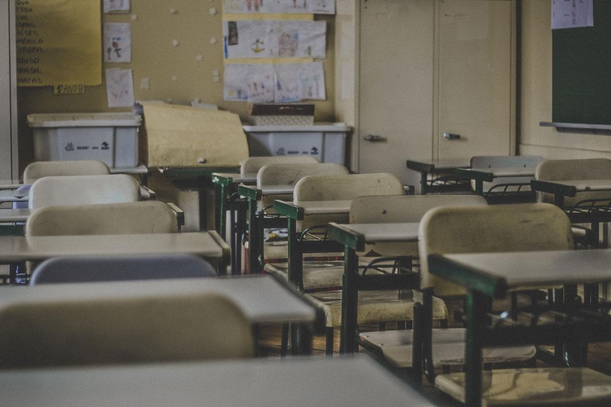 aula de escuela de primaria