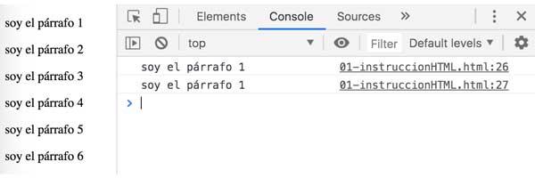 Consultar, modificar, insertar, eliminar el html de un nodo web con jQuery 1