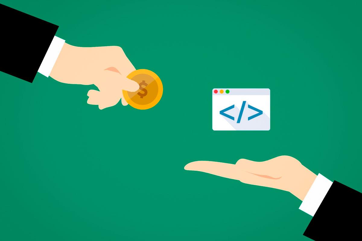 ganar dinero a cambio de código
