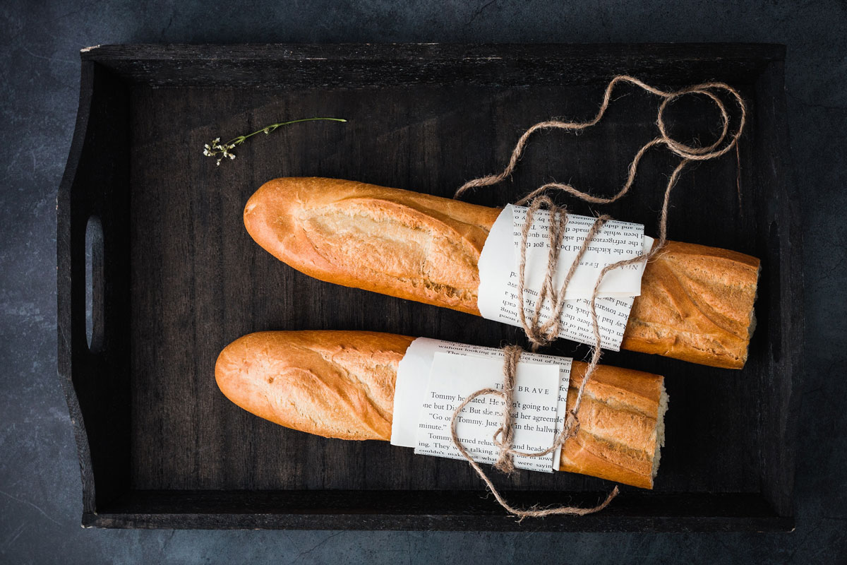 pan con packaging artesano