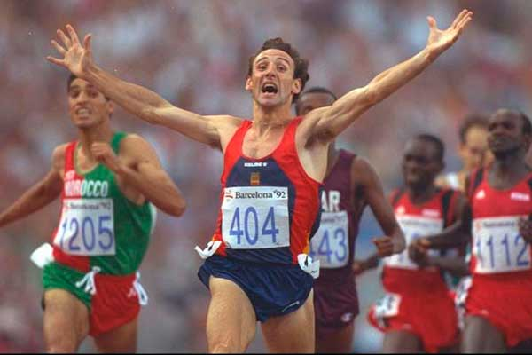 fermín cacho, campeón olímpico de 1500 en Barcelona 92