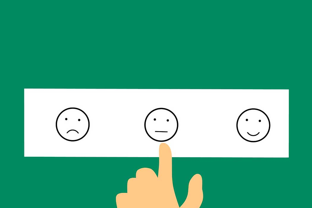 imagen mostrando 3 estados de ánimo