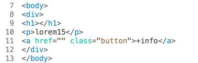 ejemplo de html mal tabulado