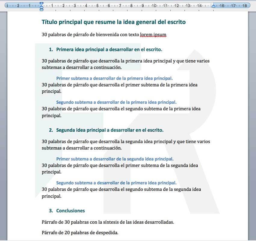 solución word microsoft ejercicio encabezados html
