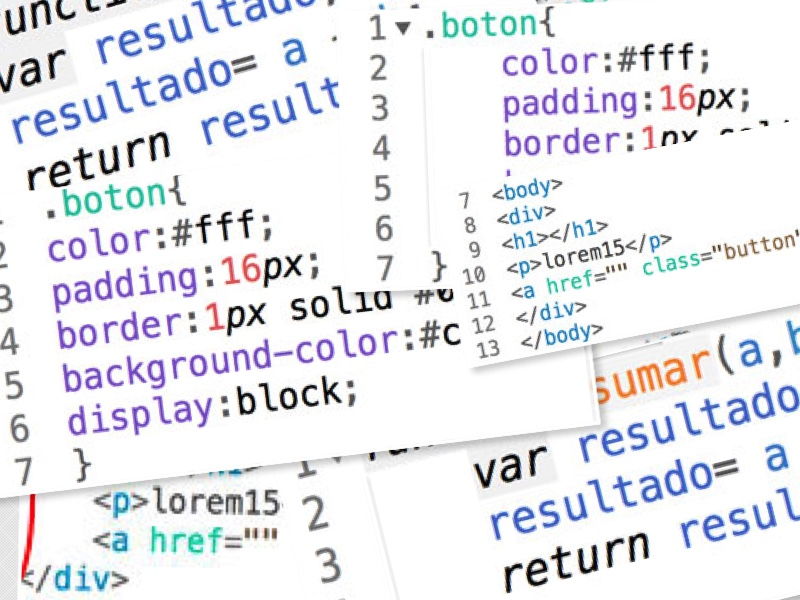Lo más importante en lenguaje web es aprender a tabular 2