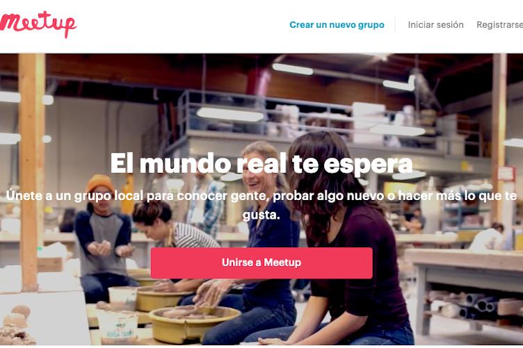Meetup, una plataforma para hacer quedadas en base a tus intereses 5