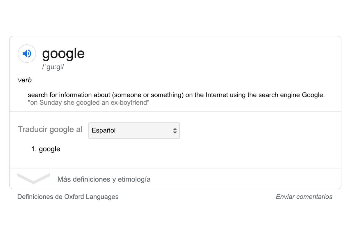 ¿Cuál es el significado real de la palabra Google? ¿y de Bing? 5