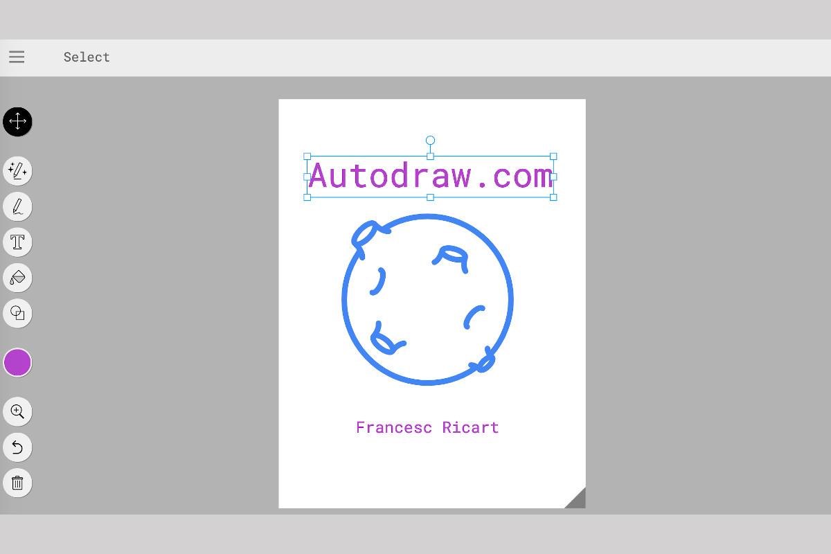ejemplo de uso de autodraw.com