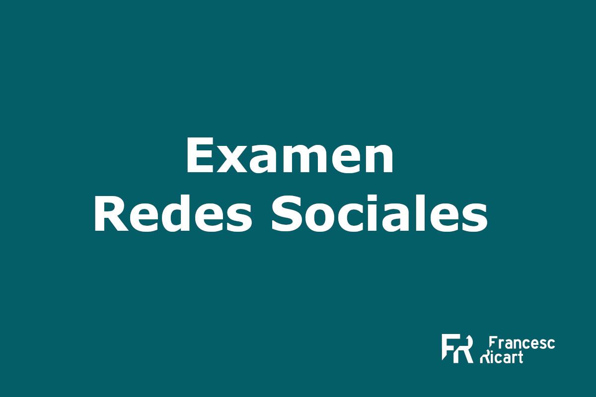 Examen final curso de redes sociales 2