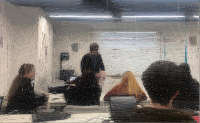 Transformar una imagen en una obra de arte con Geometrize app 1