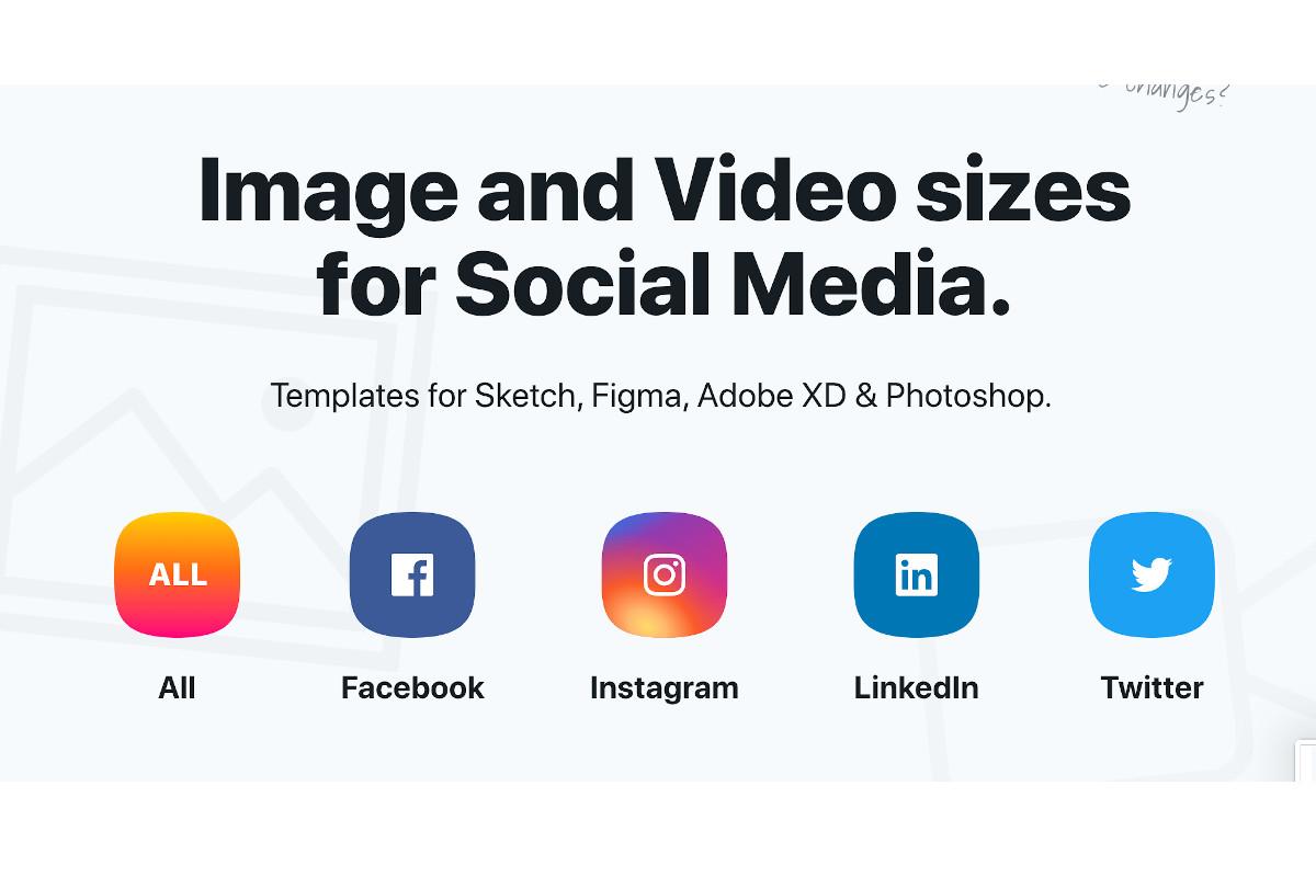 Tamaño de las imágenes y de los vídeos para las redes sociales 2