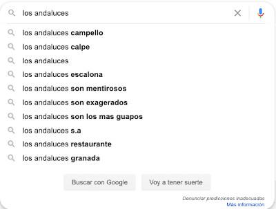 Resultados divertidos en Google Instant 4