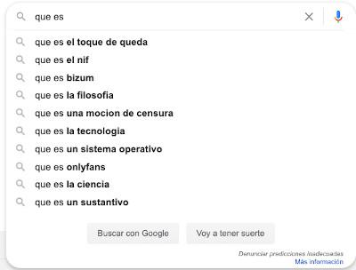Resultados divertidos en Google Instant 6